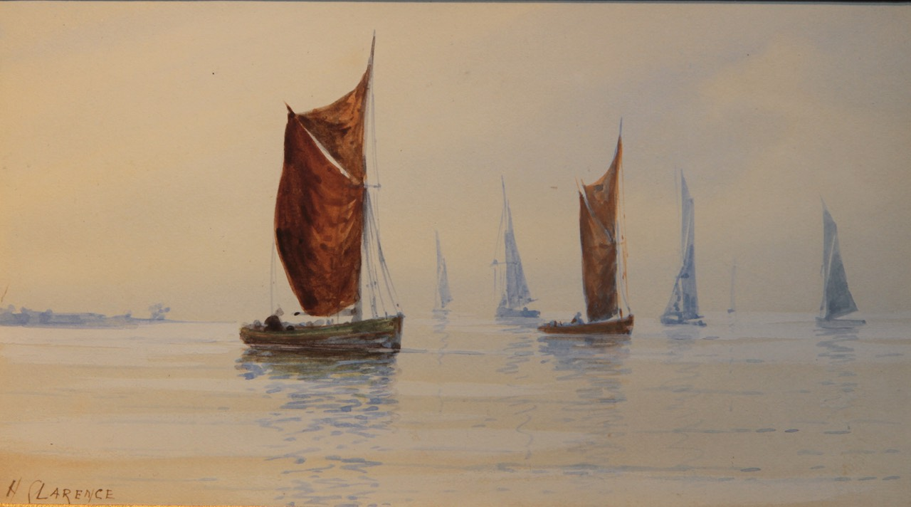 H Clarence Sailing Ships Unframed Final