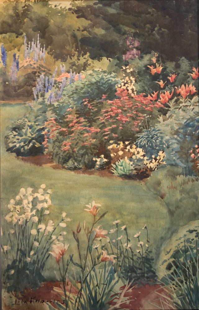 Lila Knowles The Garden Unframed Final
