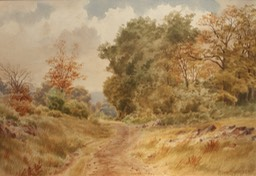 Thomas M Martin Country Road Unframed Final
